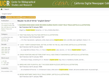 CDNC California Digital Newspaper Collection