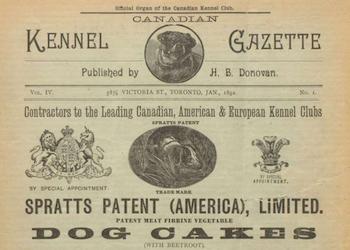 The Canadian Kennel Gazette