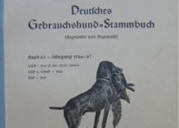 DGStB – Deutsches Gebrauchshund Stammbuch scans available