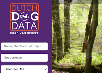 Dutch Dog Data – NHSB Dutch Studbook online