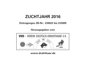 German Wirehaired Pointer – German Stud Book 2016 online