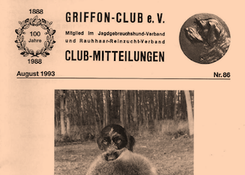 Back issues from the Griffon-Club Germany
