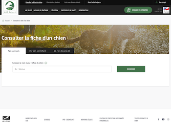 LOF select – French Online Database