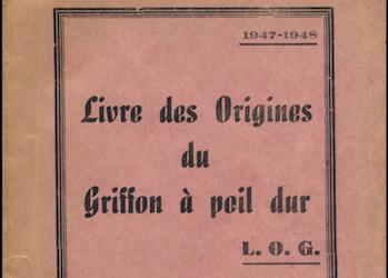 LOG – Livres des Origines du Griffon a poil dur
