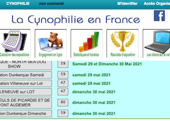 La Cynophilie en France