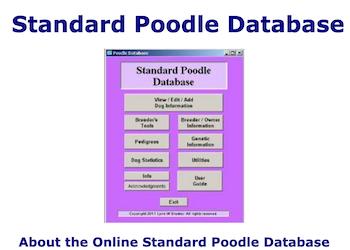 Standard Poodle Database
