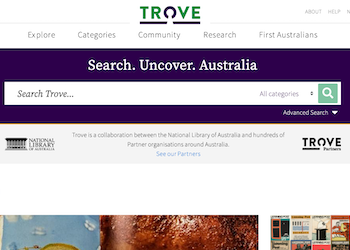 Trove National Library of Australia